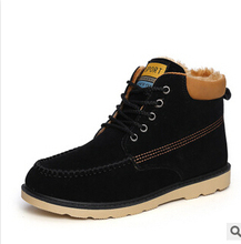 2015 Winter Men shoes casual shoes cotton padded shoes men boots ankle boots Men Sneakers men
