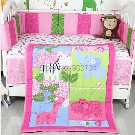 Hippo Baby Bedding Sets