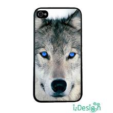 Fit for iphone 4 4s 5 5s 5c se 6 6s plus ipod touch 4/5/6 skins cellphone case cover Retail Dirt Shock Animal Wolf Blue Eyes
