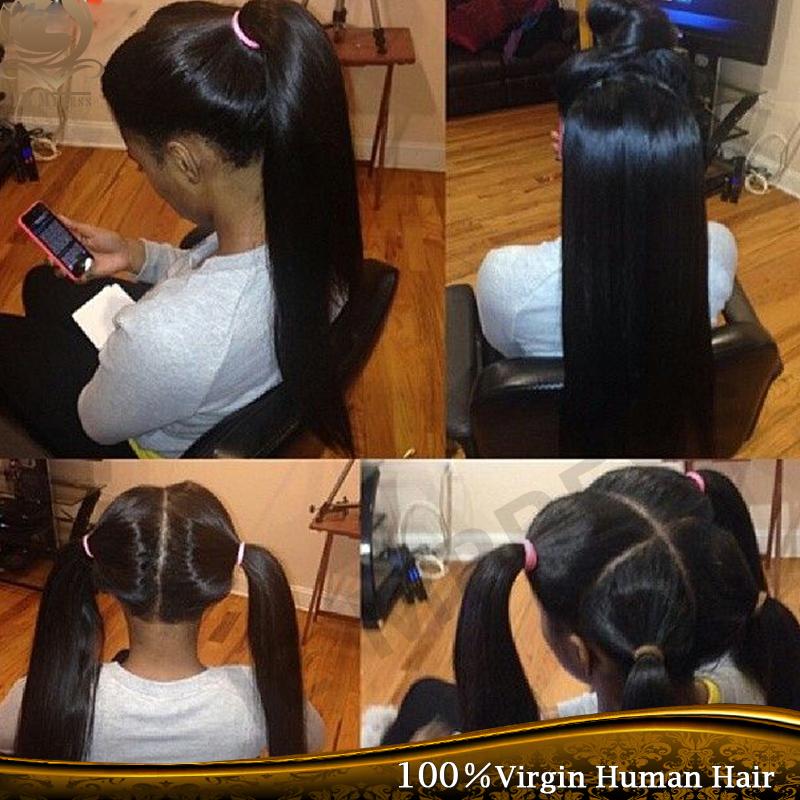 Full Lace Human Hair Wigs Peruvian Virgin Hair Straight Virgin Full Lace wig 8''-24'' Full Lace Human Hair Wigs For Black Women(China (Mainland))