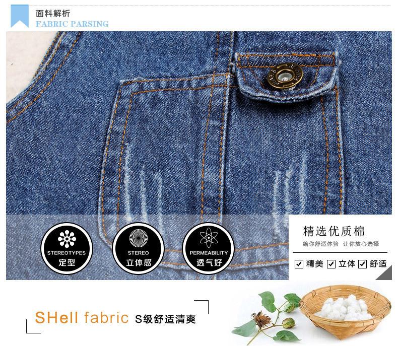 Скидки на Высокое качество 2015 Новых Осенью дети мальчики и девочки джинсовые габаритные хлопок карманные дети жан комбинезон брюки детская одежда брюки