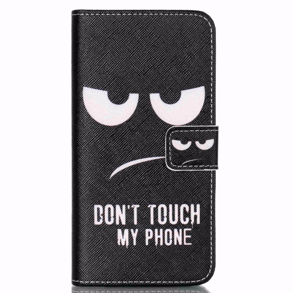 Hot! Fashion Dont Touch My Phone Romantic Flip Leather Cover Case For LG Nexus 5 X For Google Nexus 5X Love Sea Capa Cases Shell(China (Mainland))