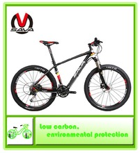 SAVA M8 carbon fiber 26-inch 27-speed mountain bike 650B / 27.5-inch 30-speed MTB Ultralight 11.5KG 2 colors to choose from(China (Mainland))