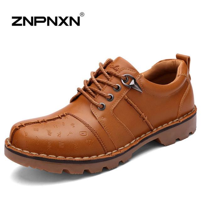 [ Znpnxnshoes ] 2015 новые люди зимние ботинки красный узелок теплые зимние из натуральной ...