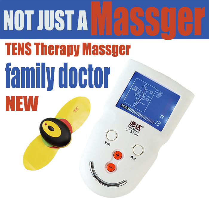 Hot New Wireless Electrical Stimulator Full Body Relax Muscle Therapy Massager as Pulse TENS Acupuncture Device for Health Care(China (Mainland))