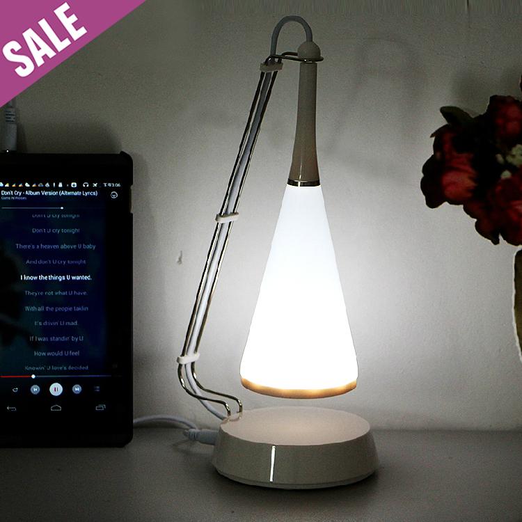 Mini Novelty Creativity Touch Sensor USB Battery Power LED Desk Night Light Lamp with Speaker for Phone Tablet PC(China (Mainland))