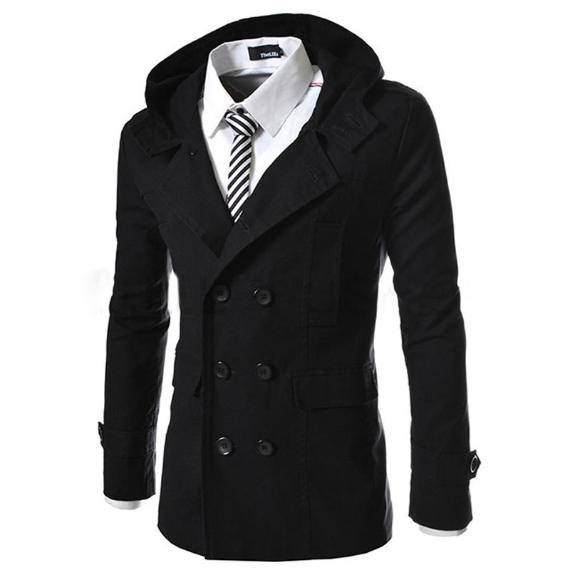 Compare Prices on Black Trench Coat Hood- Online Shopping/Buy Low ...