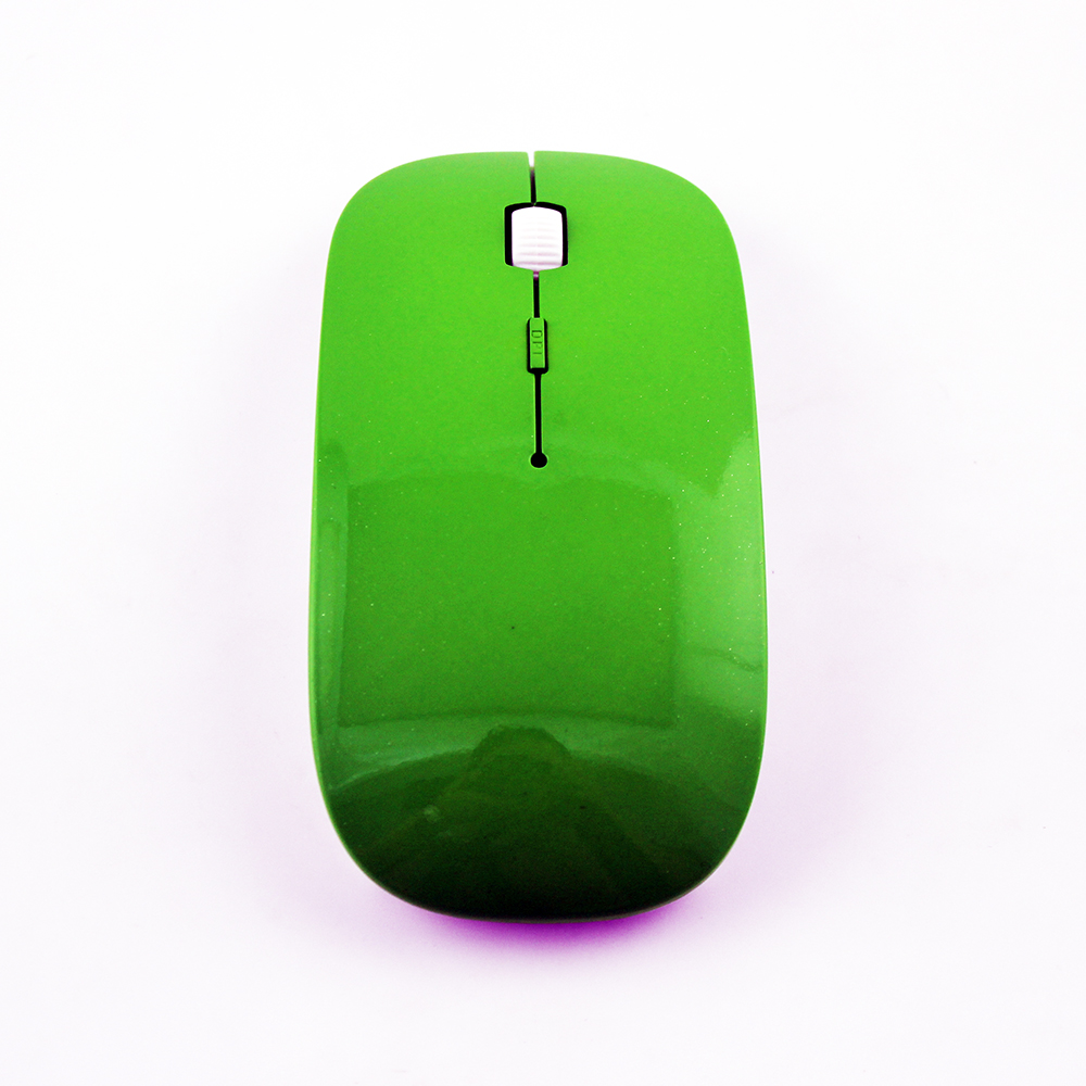 Wireless Mause Ultra Thin Optical Mouse with Adjustable DPI 1600 4D Mini Gaming Mice 2.4G USB Receiver for Laptop Desktop(China (Mainland))