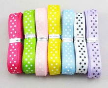 10mm 14yards/lot (2 yards/color)  grosgrain ribbon DIY Decorative arts and crafts 040054023