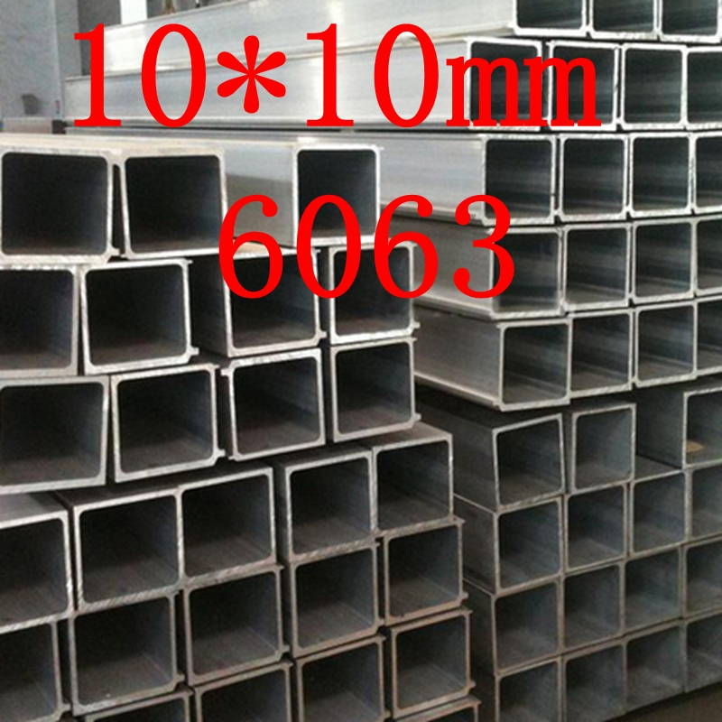 10X10mm 6063 Square Metal/Aluminium Tube/Pipe(China (Mainland))