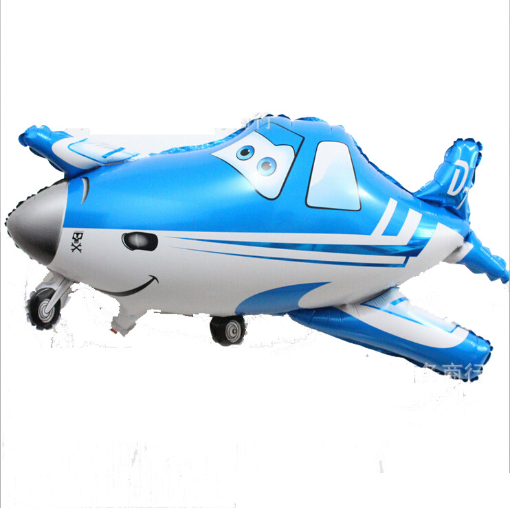 New Coming 83*47.2cm Air Plane Inflatable Balloon, Airbus Mylar Balloon, Cars Toys for Party Birthday(China (Mainland))