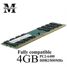 Wholesale 2PCS/Lot Brand New Sealed ram DIMM DDR2 2X4gb 800MHz pc2-6400 Dual-channel 8GB Desktop memory ram for AMD Compatible