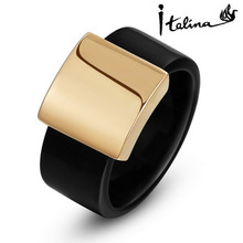 Italina R.A Wide Ring For Wen Anel Aneis 18K Rose Gold Plated Top Quality Party Jewelry Utopia Jewelry #RA13611(China (Mainland))