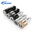 Dual Usb Car Charger Adapter 2 usb Port 3 1A Smart Car charger for Iphone Samsung