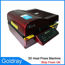 3D Multifunctional Sublimation Heat Press Machine/3D Vacuum Sublimation Heat Transfer Machine/Ip case Vacuum Press Ship From UK