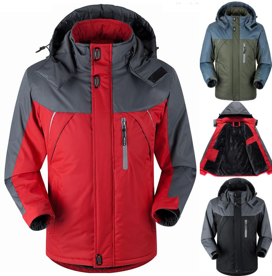 Winter men jacket Down Parkas male thermal Velvet coat for men tourism jackets outerwear jaqueta Waterproof Windproof Chaqueta(China (Mainland))