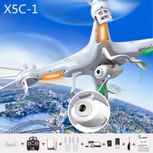 100% Original High Quality White Color X5C-1 RC Helicopter Remote Control RC Drones With 2.0MP HD Camera Best Choice Quadcopter