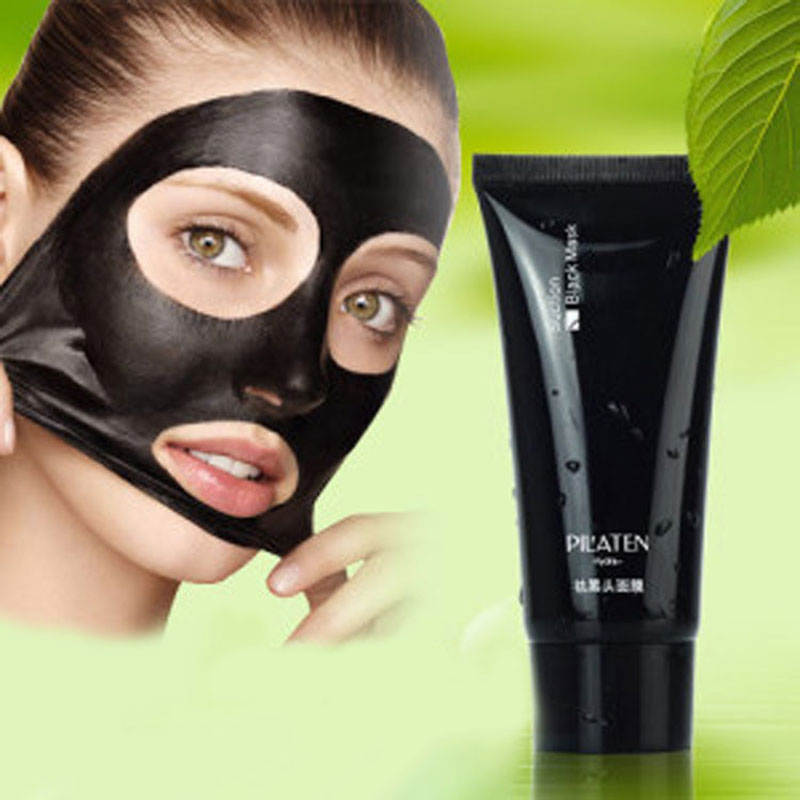 2PCS  Deep Cleansing purifying peel off Black mud Facail face mask Remove blackhead facial mask 50ml<br><br>Aliexpress