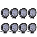 8PCS Lot Car LED Work Lights 27W driving light Off road Tractor Trailer ATV 4x4 ATV