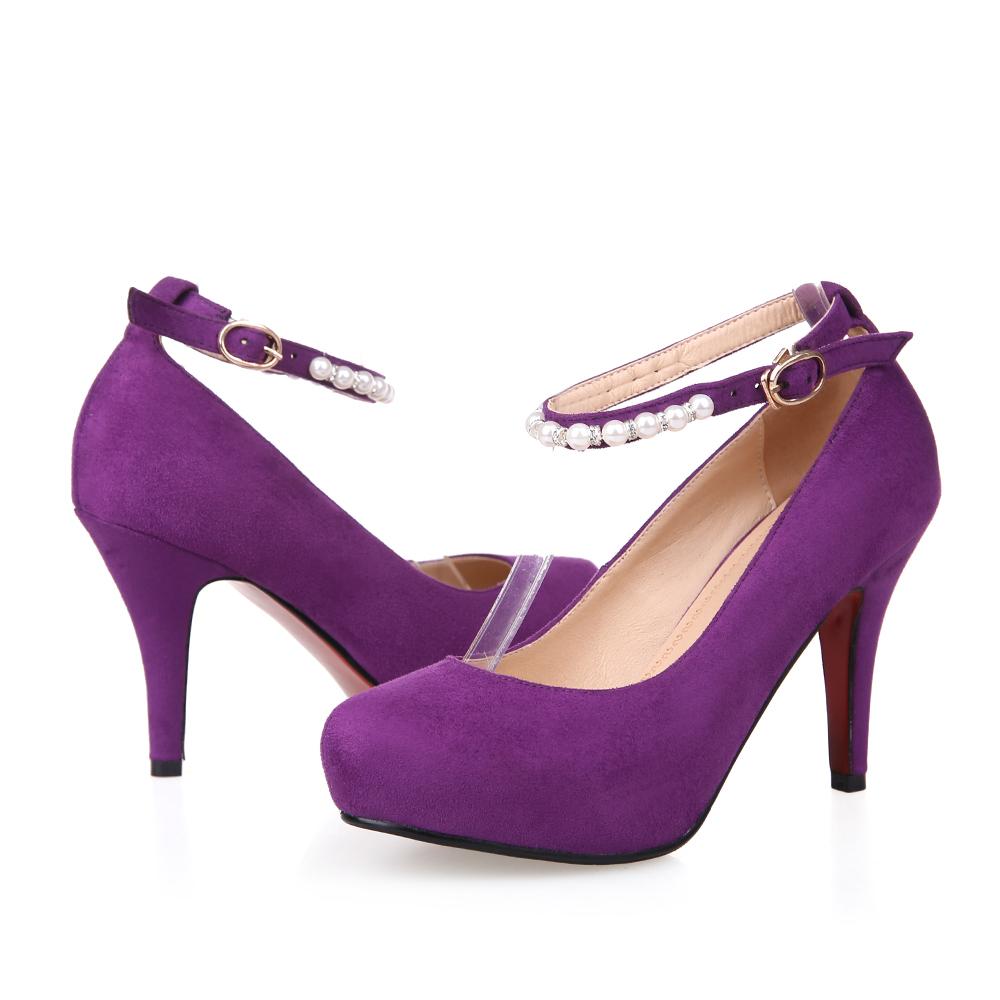 Popular Purple Wedding Pumps-Buy Cheap Purple Wedding Pumps lots