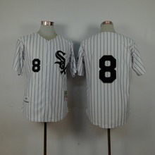 #8 Bo Jackson Jersey #72 Carlton Fisk Jersey Chicago White Sox 1993 Throwback Men's Embroidery and Stitched Baseball Jerseys(China (Mainland))