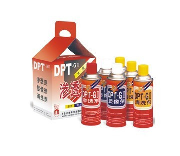 Wholesale sales of DPT-GIII dye penetrant agent / penetrant / developer / Cleaner(China (Mainland))