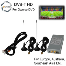 HD Car DVB-T MPEG4 Digital TV Receiver Box With Double Antenna For Ownice Car DVD Player, This Item Don't Sell Separately !(China (Mainland))