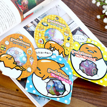 4 Bags DIY Kawaii Japanese Anime Lazy Eggs Decorative Stickers For Scrapbooking Decoration Kids Animal Sticker Free Shipping