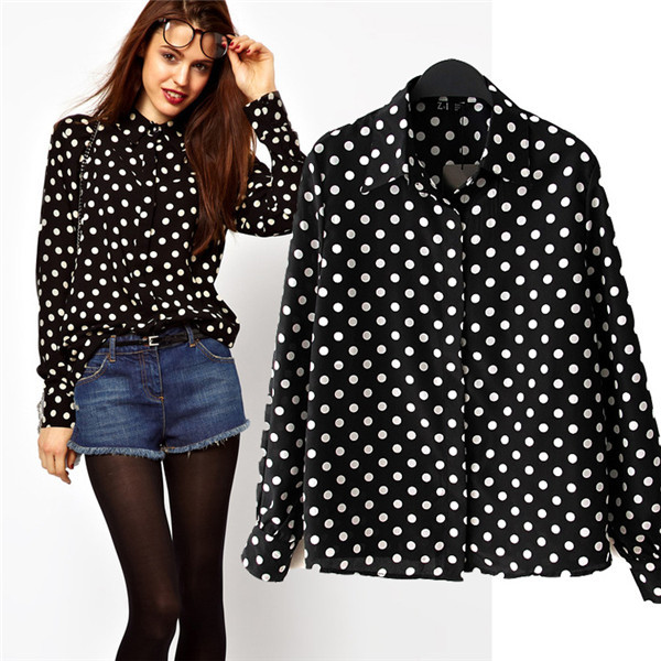 Find great deals on eBay for black and white polka dot shirt. Shop with confidence.