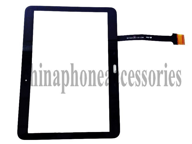 Replacement Digitizer Touch Screen Front Glass Lens repair part For Samsung Galaxy Tab 4 10.1 SM-T530 T531 T535+ tools<br><br>Aliexpress