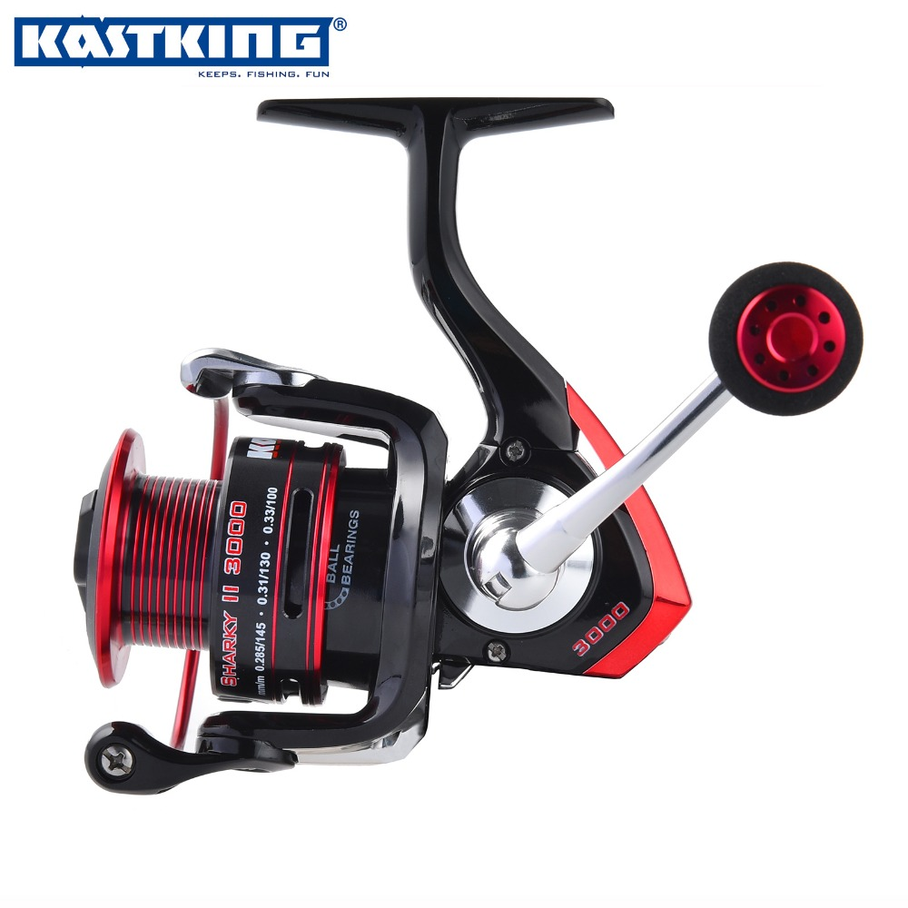KastKing Sharky II 1500 Series Waterproof Carbon Drag Spinning Reel with Metal Spool Super Light Sea Boat Spinning Fishing Reel(China (Mainland))
