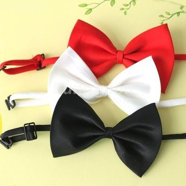 New Hot sale discount Child Bow Tie Flower Girl Bow Tie Black Red White Bow Tie promotion free shipping(China (Mainland))
