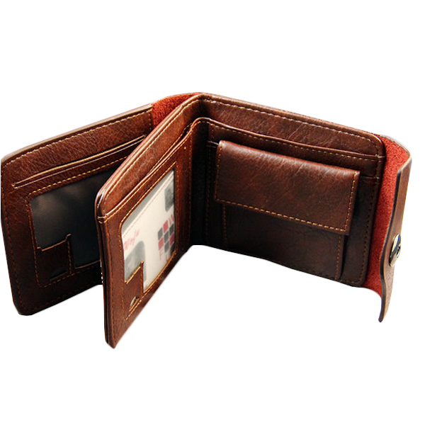 3 Fold Solid Color Carteira Masculina Couro Patent Leather Men Wallet Desigual Man Hasp Coin Bag Wallet Purse Men Card Holder(China (Mainland))