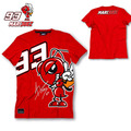 2016 New Fashion Summer MOTO GP 93 Marc Marquez T Shirt Men Motorcycle Short Sleeve T