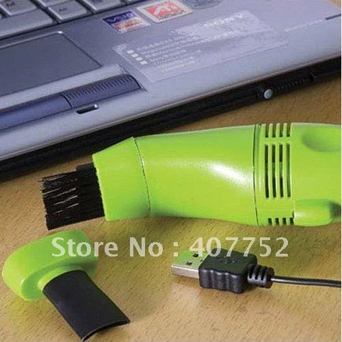 5pcs USB Vacuum Keyboard Cleaner Dust Collector For PC Laptop, Free Shipping