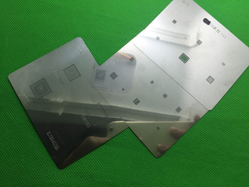 3 ШТ. BGA чип реболлинга трафарет Для Samsung Galaxy S6 G9200 S6 Edge
