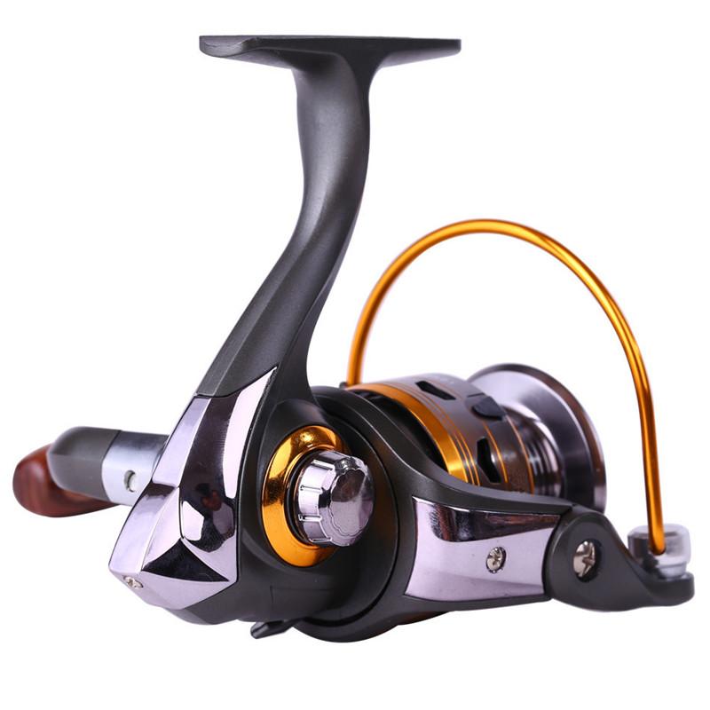 Sougayilang promotion 10 1bb metal spinning fishing reel for Sougayilang spinning fishing reels