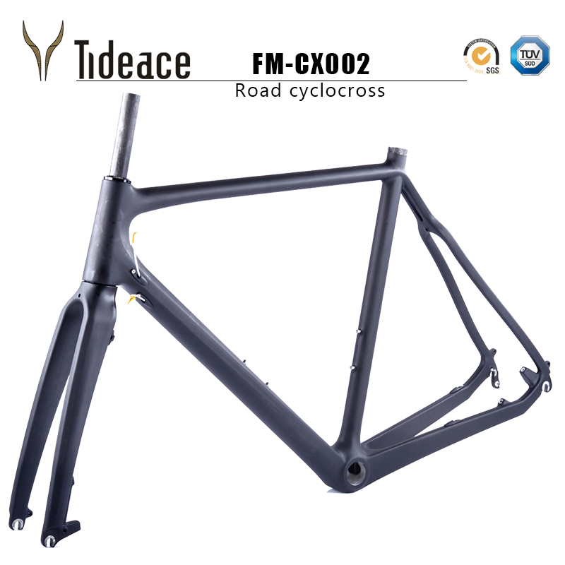 2017 Carbon Cyclocross Frame disc-brake toray T800 Carbon Cyclocross Frame Di2 for Carbon Cyclocross Bike with free parts(China (Mainland))