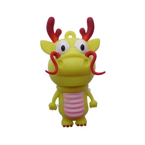 Plastic cartoon 3D dragon King USB Flash Drives thumb pen drives memory stick disk 2GB 4GB 8GB 16GB 32GB Free DHL/EMS(10pcs/lot)(China (Mainland))