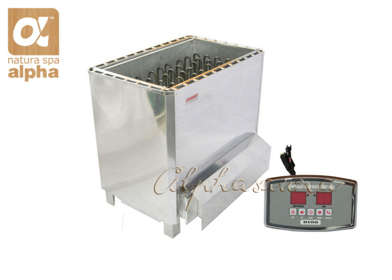 Free shipping 15KW220-240V  stainless steel  sauna heater with Wall mounting ST-135T  Controller Sauna room accessories<br><br>Aliexpress