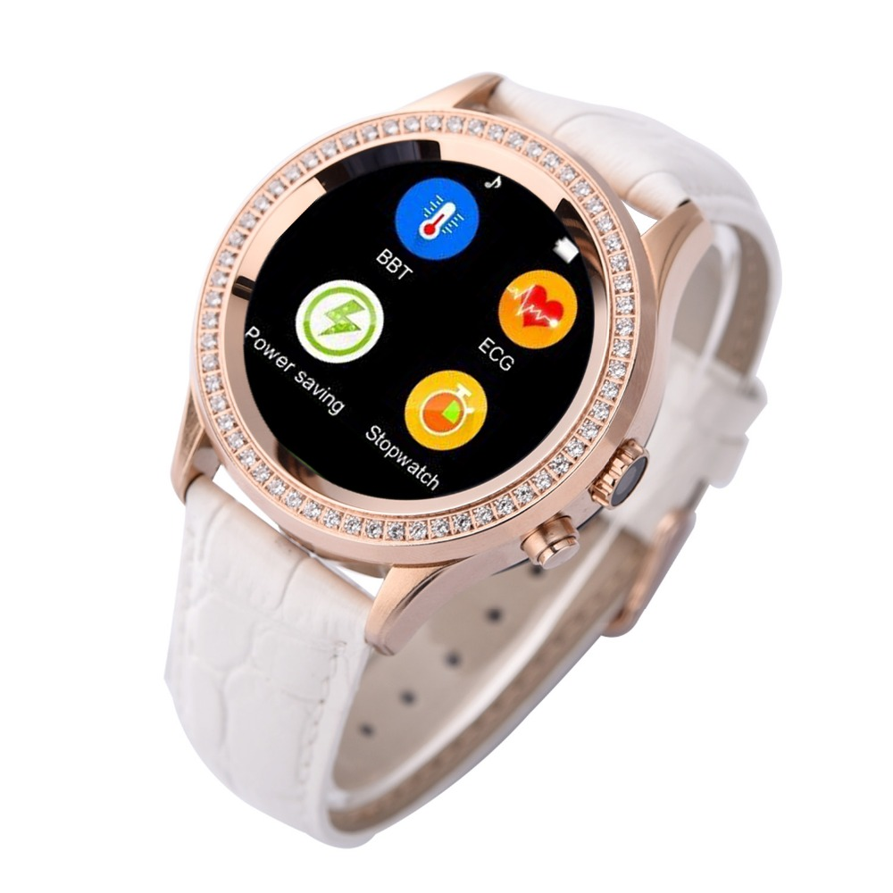 2016 New Waterproof Bluetooth Women Diamond Smart Watch D2 for iPhone and Android Smartwatch with Camera sms heart Rate monitor<br><br>Aliexpress