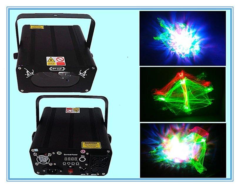 Фотография Best Selling New Arrival 9W*6pcs leds RGB KTV Super Magic Mini Laser Light,Disco Laser Show System For Christmas Event Party