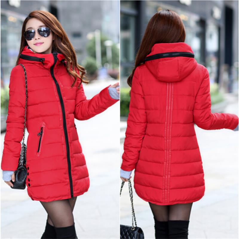 fashion Autumn winter jacket coat women wadded female Overcoat Jacket Outerwear Winter - Love Vinson international trade company store