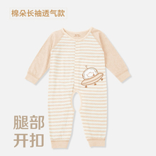 Baby clothing short sleeved summer cotton pajamas infant Romper spring cotton baby clothes summer climbing clothes(China (Mainland))