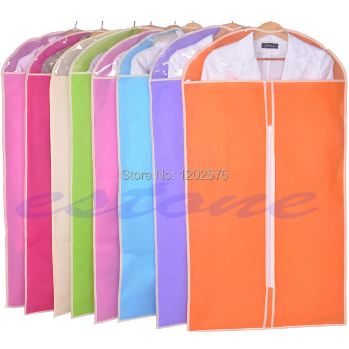 A96 Free Shipping Home Dress Clothes Garment Suit Cover Case Dustproof Storage Bags Protector(China (Mainland))