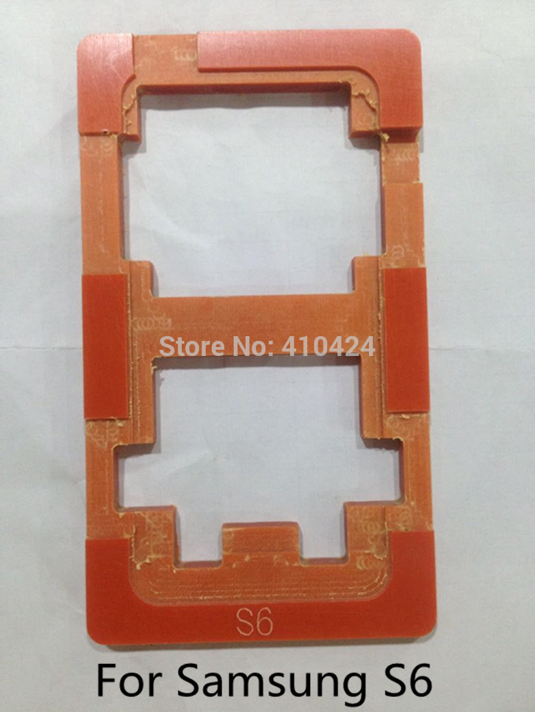 2015 Refurbishment Glueing Repair LCD Outer Glass Mould Mold Model Holder For For Samsung Galaxy S6 Screen Repair(China (Mainland))