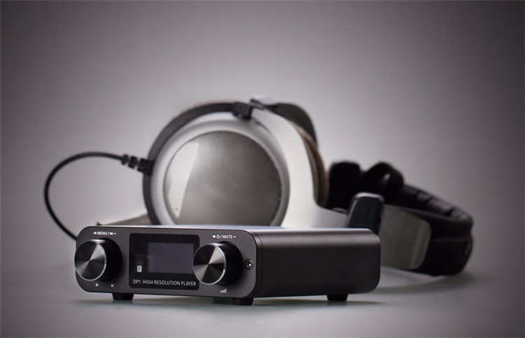 New SMSL DP1 HIFI Audio Decoder Headphone Amplifier 32Bit/192KHz USB DAC Home Audio Digital Turntable HIFI Lossless Player Black