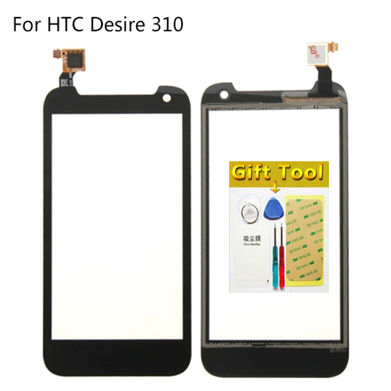 Original Digitizer For HTC Desire 310 D310 Touch Screen Sensor Replacement Display External Lcd Touch Panel Glass Calbe + Tools(China (Mainland))