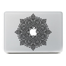 Personalità fiore decalcomania del vinile autoadesivo della pelle aufkleber pegatina autocollant per macbook sticker 13 15 pro air retina laptop(China (Mainland))
