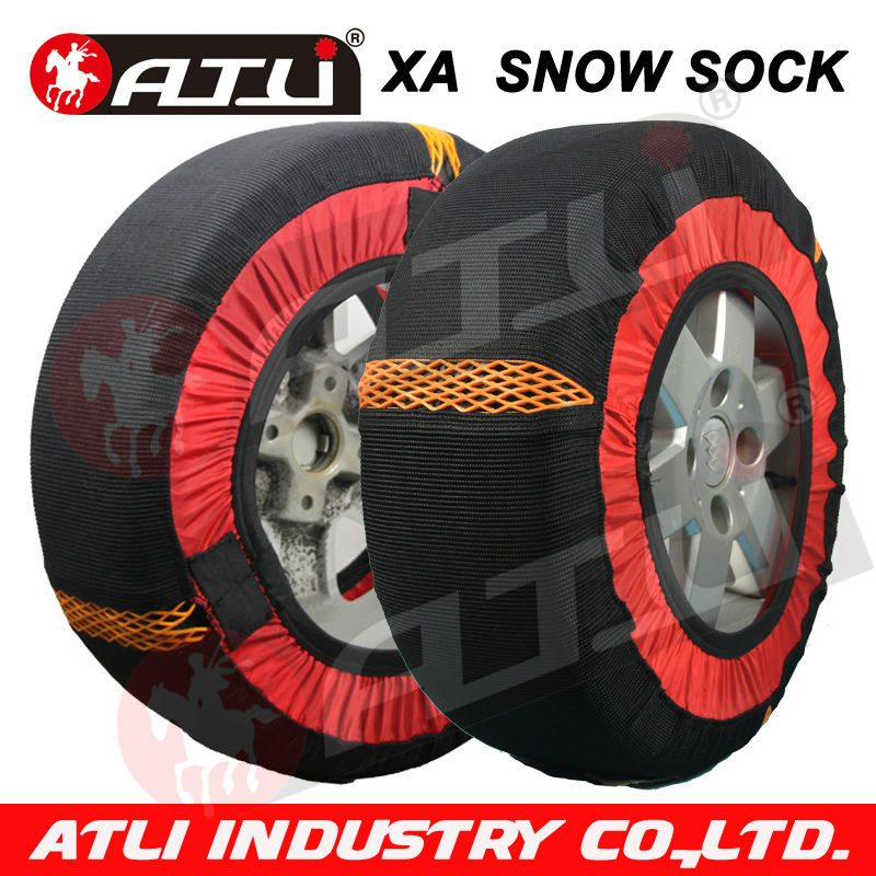 ATLI XA Small size Auto fabric chain tyre snow chain for passenger car(China (Mainland))